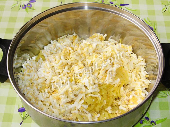 ингредиенты для салата змейка - ingredienty dlya salata zmeyka