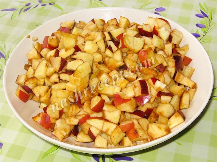 яблоки для яблочного пирога - yabloki dlya yablochnogo piroga
