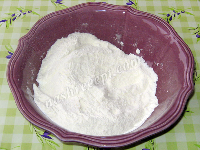 мука для яблочного пирога - muka dlya yablochnogo piroga