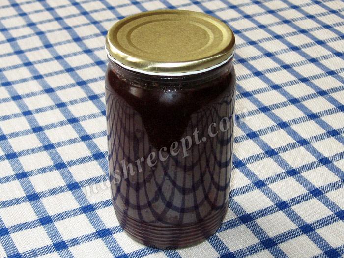 закатываем джем из черной смородины - zakatyvaem dzhem iz chernoy smorodiny