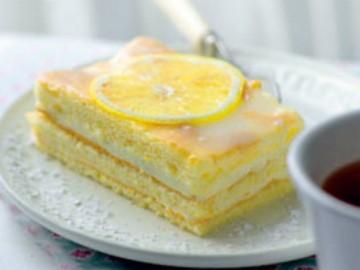 лимонный торт - limonnyi tort