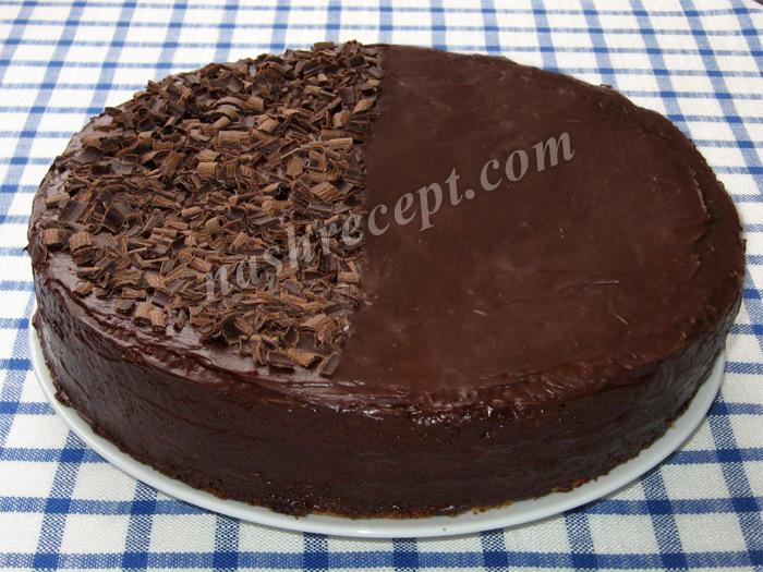 шоколадный венский торт Захер - shokoladnyi venskiy tort Sacher