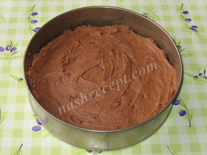 шоколадное тесто для торта Захер - shokoladnoe testo dlya torta Sacher