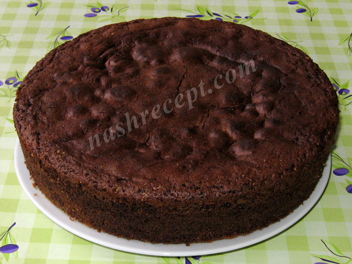выпекаем торт Захер - vypekaem tort Sacher