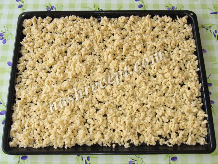"""трем тесто на терке для торта """"Муравейник"""" - trem testo na terke dlya torta """"Muraveynik"""""""