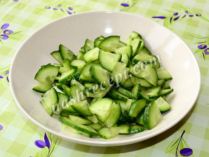 огурцы для болгарского (шопского) салата - ogurtsy dlya bolgarskogo (shopskogo) salata