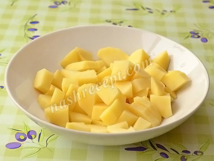 картофель для ухи из карпа - kartofel dlya uhi iz karpa