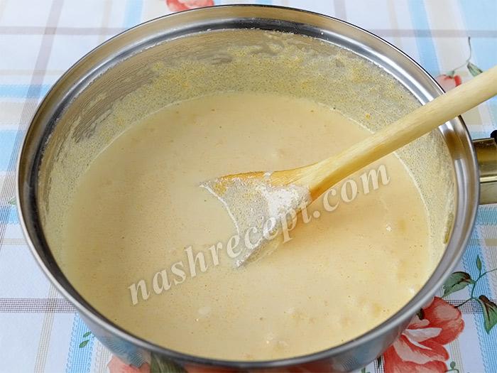 желтки с сахаром для пасхальных куличей - zheltki s saharom dlya paskhalnyh kulichey