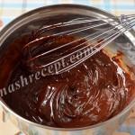 Шоколадный крем ганаш