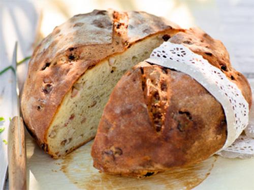 домашний хлеб с беконом - domashniy hleb s bekonom