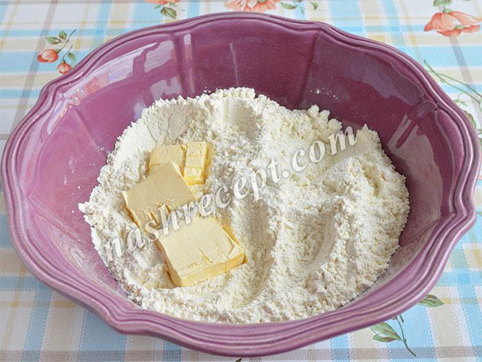 мука и масло для круассанов - muka i maslo dya kruassanov