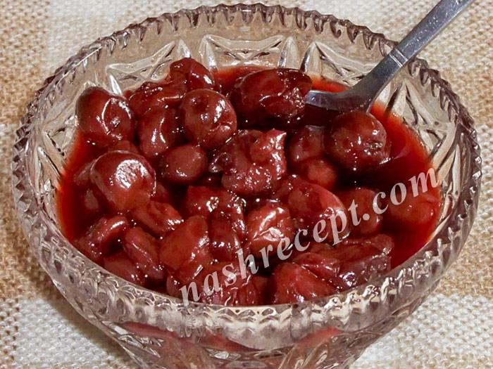 варенье из вишни без косточек - varenye iz vishni bez kostochek