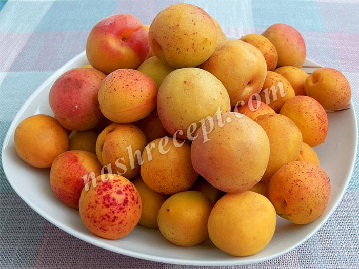 абрикосы для абрикосового варенья - abrikosy dlya abrikosovogo varenya
