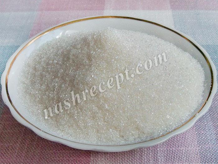 сахар для абрикосового варенья - sahar dlya abrikosovogo varenya