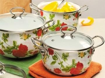 эмалированная посуда - emalirovannaya posuda