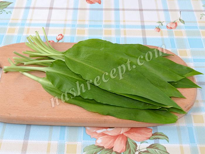 черемша для салата - cheremsha dlya salata