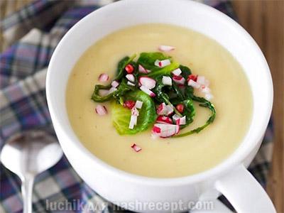 суп с редиской - sup s rediskoy