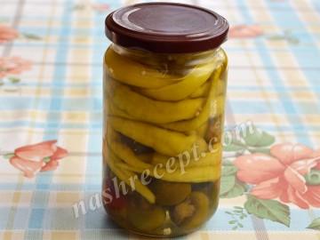 острый перец консервированный - ostryi perets konservirovannyi