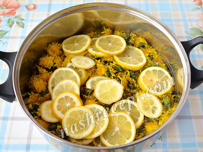одуванчики и лимоны заливаем водой - oduvanchiki i limony zalivaem vodoy