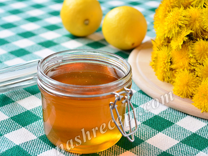 варенье из одуванчиков (мёд из одуванчиков) - varenie iz oduvanchikov (miod iz oduvanchikov)