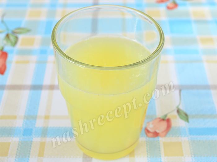 лимонный сок - limonnyi sok