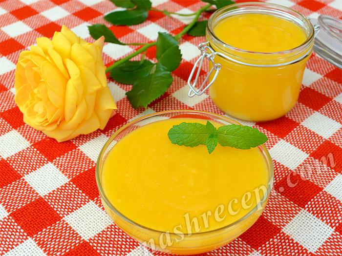 лимонный крем - limonnyi krem (lemon curd)