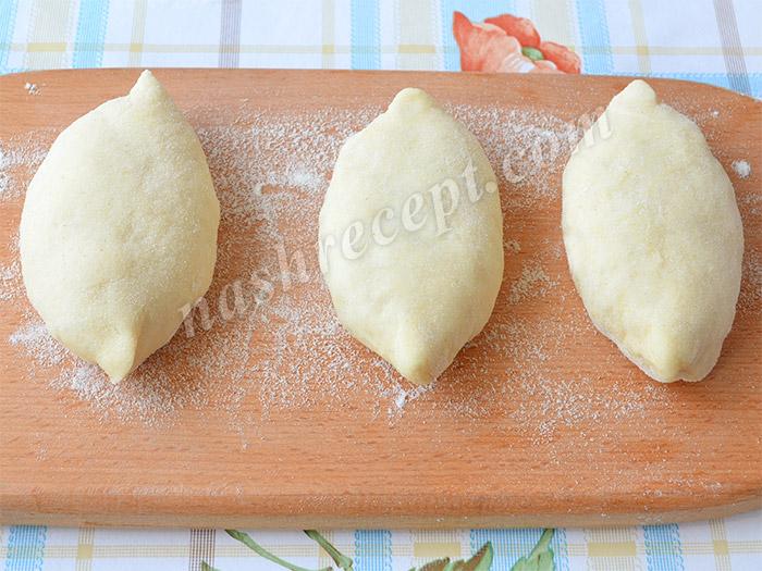 лепим пирожки с капустой - lepim pirozhki s kapustoy