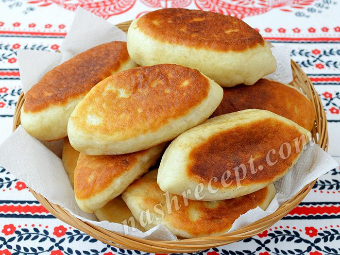 пирожки с капустой жареные - pirozhki s kapustoy zharenye