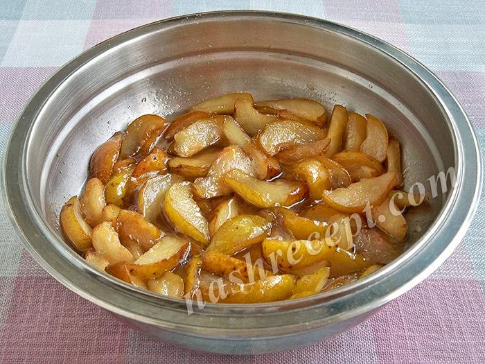 как варить варенье из груш дольками - kak varit varenye iz grush dolkami