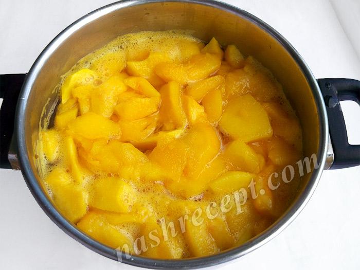 варим варенье из персиков - varim varenye iz persikov