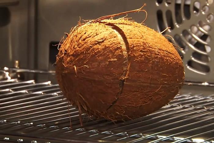 кокос в духовке - kokos v duhovke