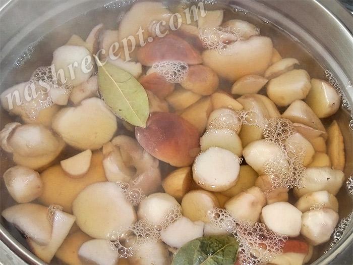 варим белые грибы - varim belye griby