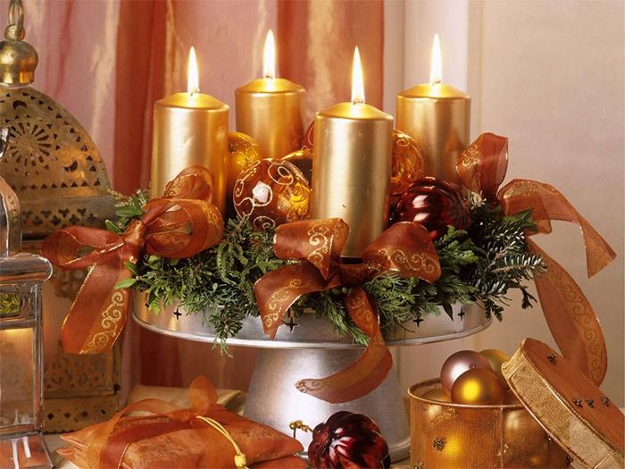 новогодний (рождественский) веночек