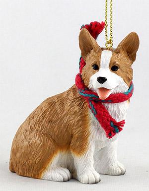 елочная игрушка - собака