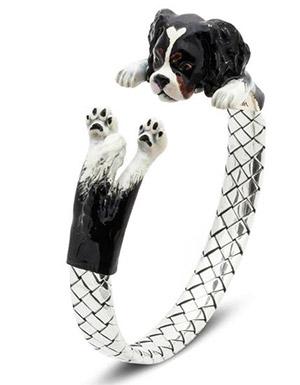 браслет в виде собаки к Новому году