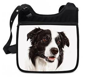 подарки к Новому году: сумка с собакой