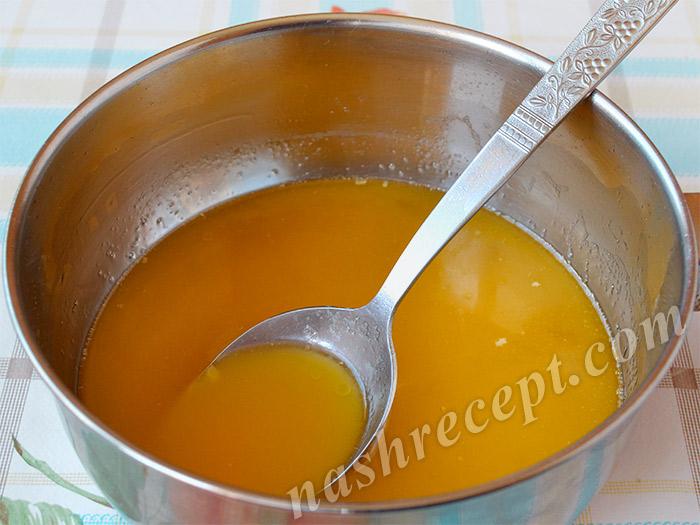 растопленное масло или маргарин для куличей - rastoplennoe maslo ili margarin dlya kulichey
