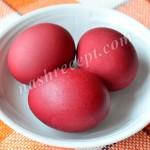 Как покрасить пасхальные яйца в розовый цвет соком свеклы