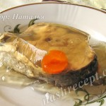 холодец из рыбы (из пиленгаса) - holodets iz ryby (iz pelengasa)