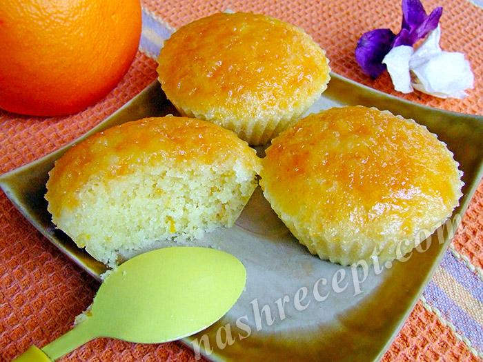 апельсиновые маффины рецепт - apelsinovye maffiny recept