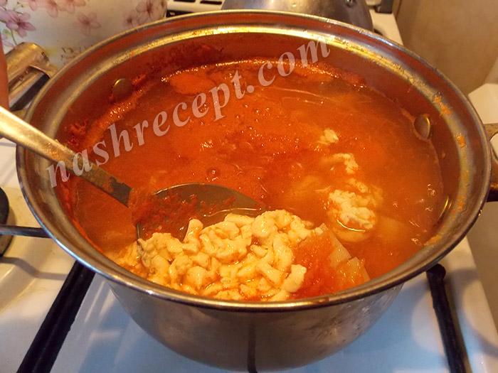 кладем в суп плавленный сыр - kladem v sup s plavlennyi syr