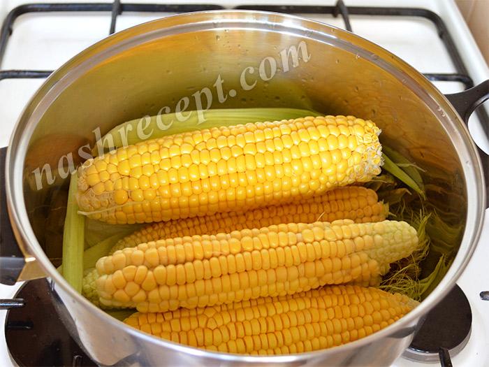 кукуруза в кастрюле - kukuruza v kastryule