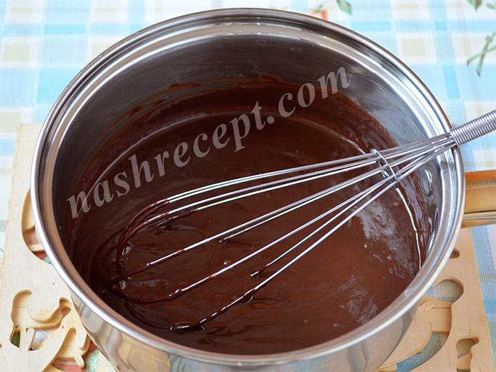 шоколадный крем для творожной пасхи
