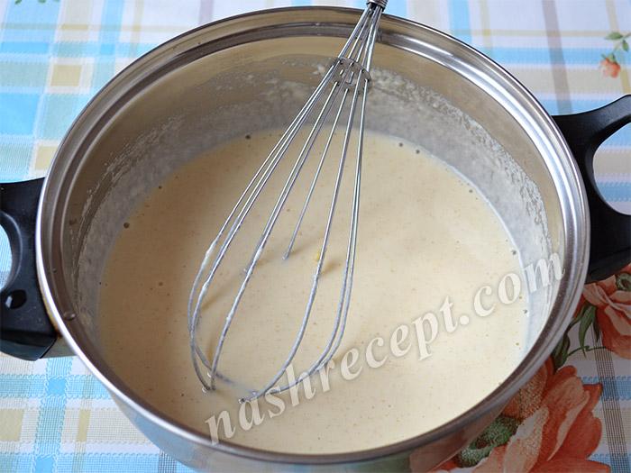 жидкое тесто для фигурного хвороста