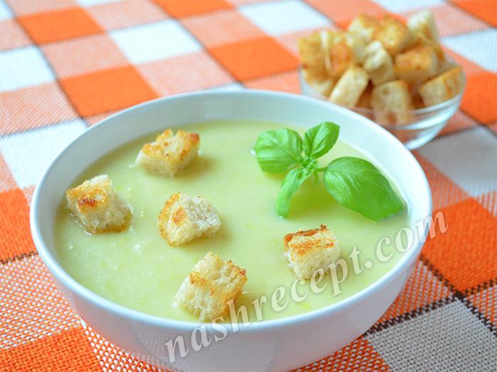 суп-пюре из порея