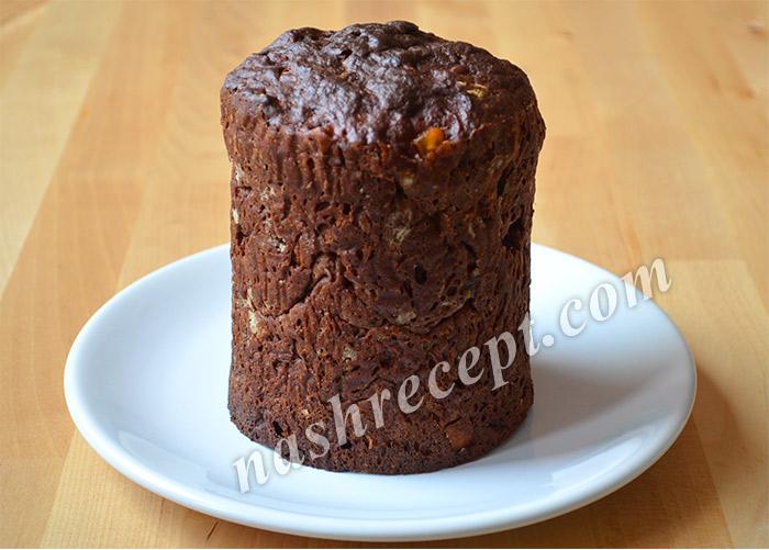 выпекаем шоколадный пасхальный кулич