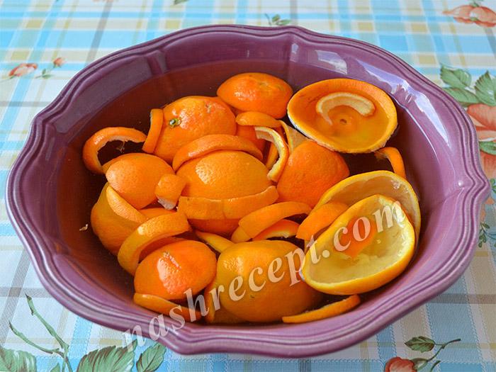 апельсиновые корки для цукатов