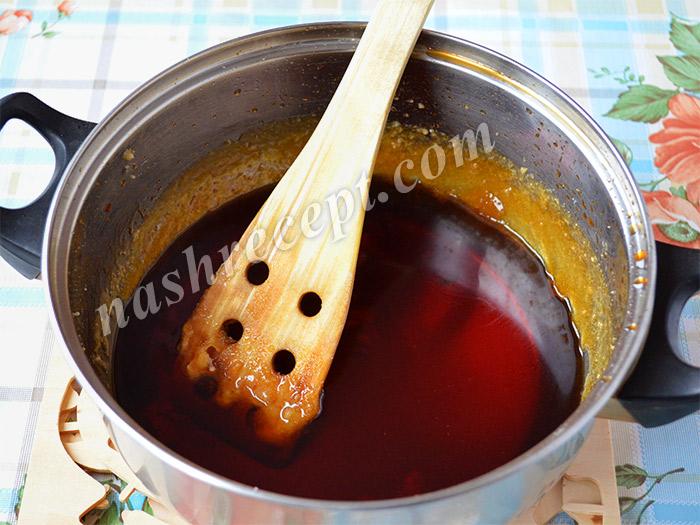 сироп для цукатов из апельсиновых корок