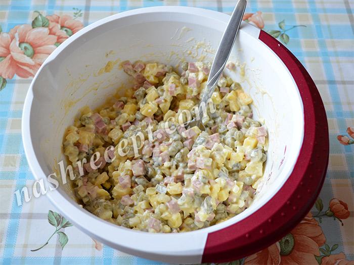 оливье для салата Свинья